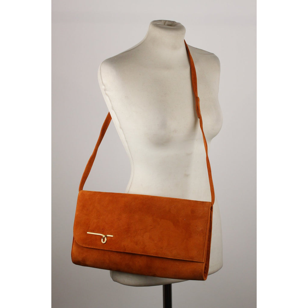 Laura Biagiotti Vintage Clutch Shoulder Bag