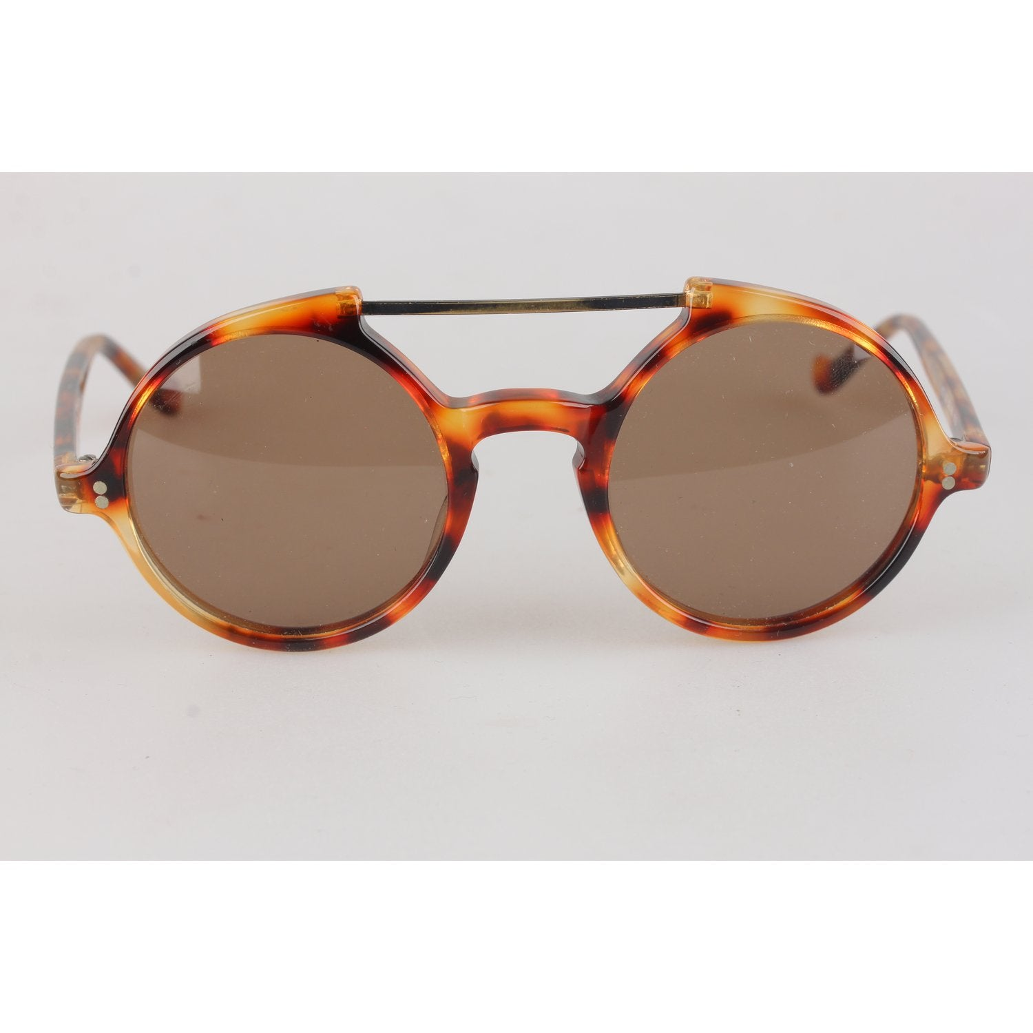 c2fbec306 Enjoy Versace Vintage Round Sunglasses 45mm Mod. 530 at OPHERTYCIOCCI –  OPHERTY & CIOCCI