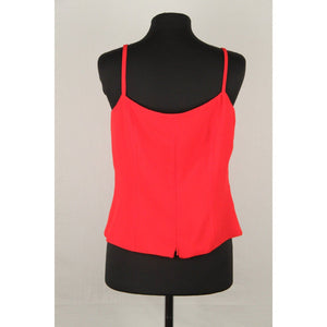 Bagatelle Lady Day Vintage Red Cami Top Size 42 Opherty & Ciocci