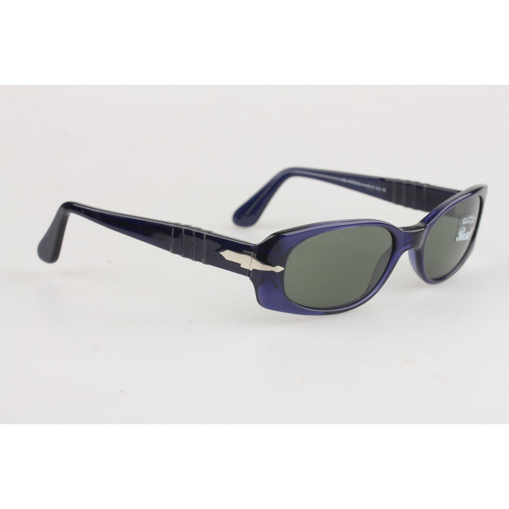 Vintage Blue Unisex Small Meflecto Sunglasses mod. 2606-S