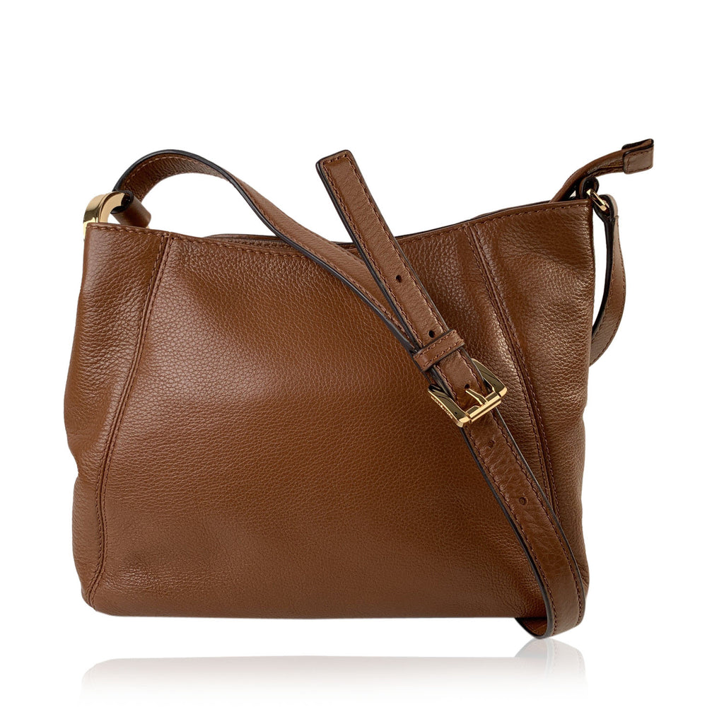 Michael Michael Kors Tan Leather Fulton Messenger Bag