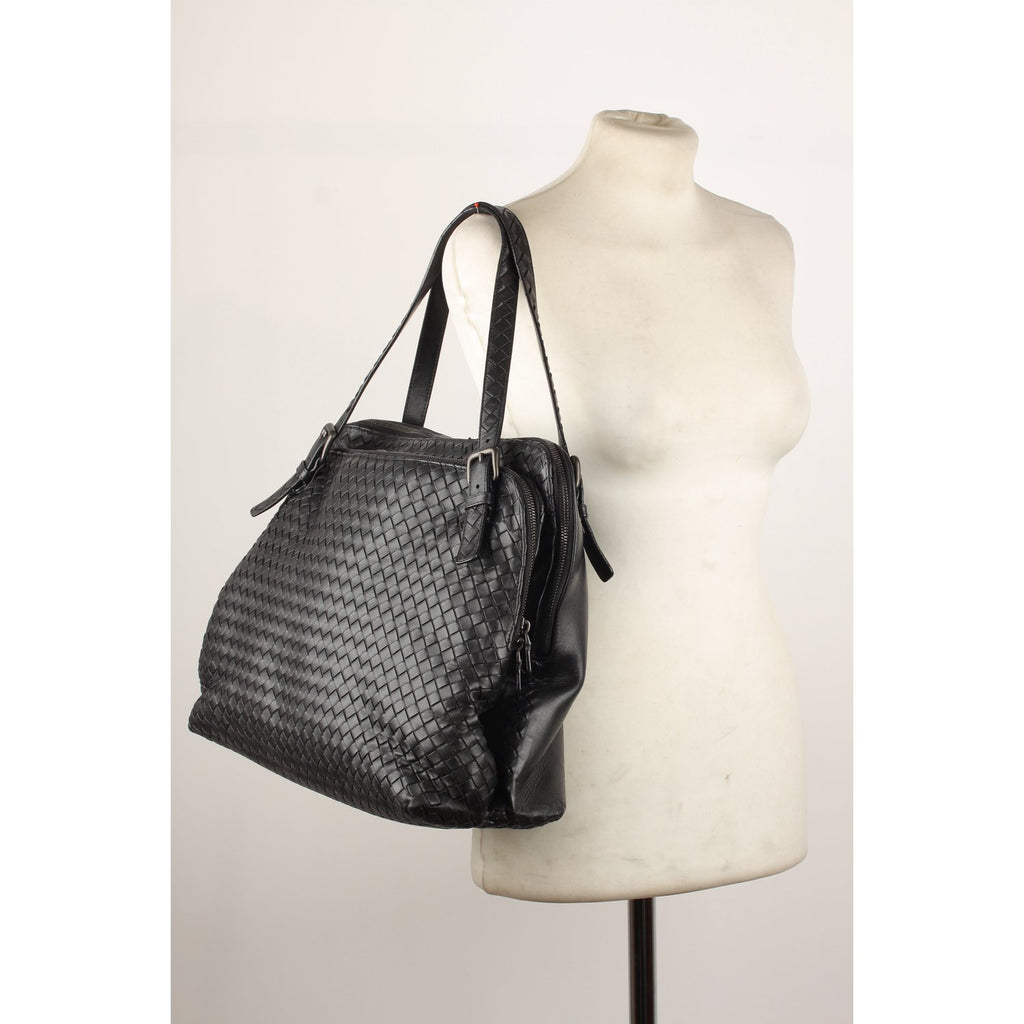 Bottega Veneta Intrecciato Double Compartment Bag