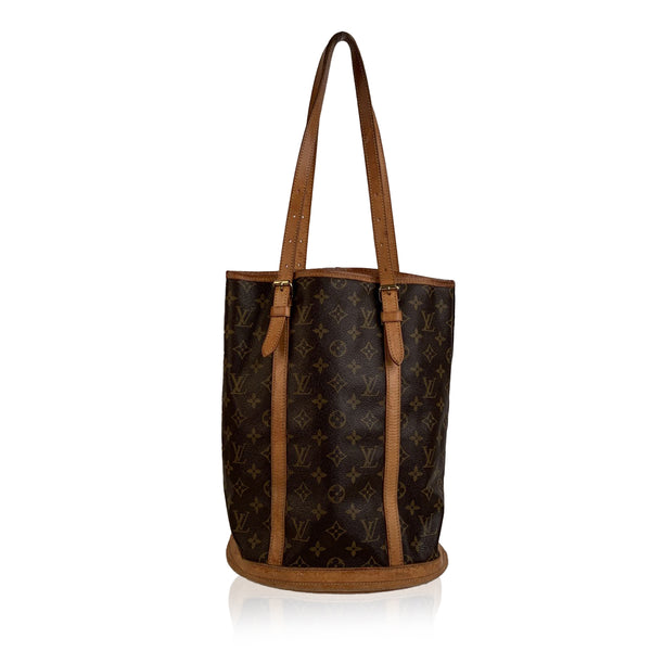 Louis Vuitton Vintage Brown Monogram Canvas Bucket GM Bag