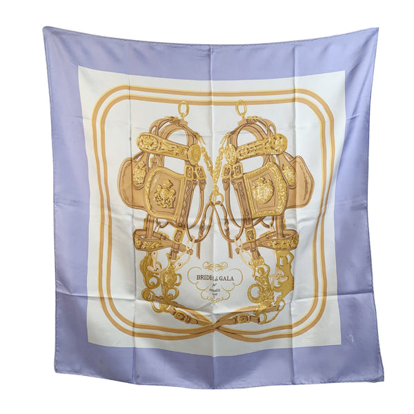 Hermes Vintage Silk Scarf Brides de Gala 1957 Grygkar Defects