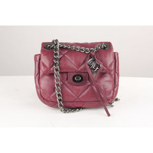 Quilted Leather Small Crossbody Bag Opherty & Ciocci