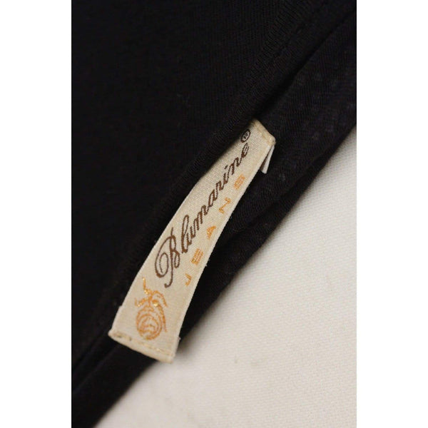 Jeans Black Long Sleeve Top Size 40 Opherty & Ciocci