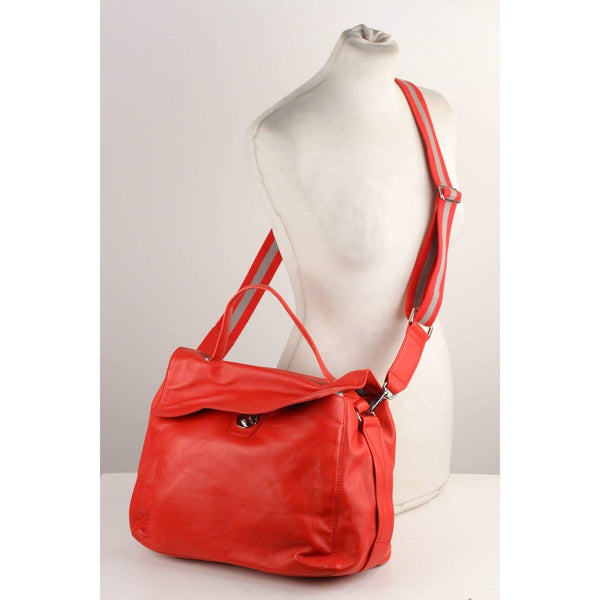 Lucy Satchel Bag With Shoulder Strap Opherty & Ciocci