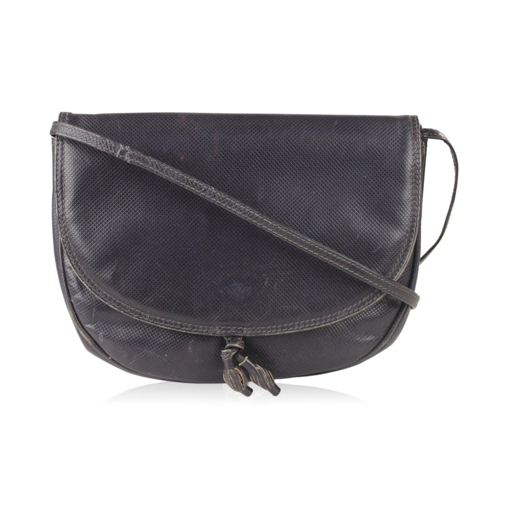 Embossed Leather Messenger Bag Opherty & Ciocci