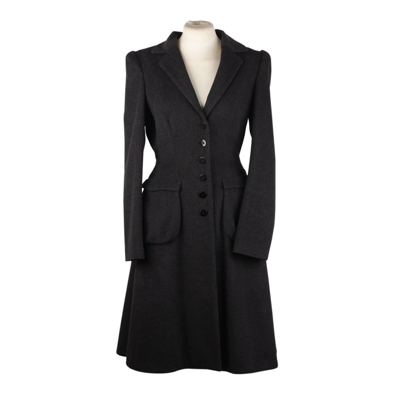 Wool Blend Coat Size 40 Opherty & Ciocci