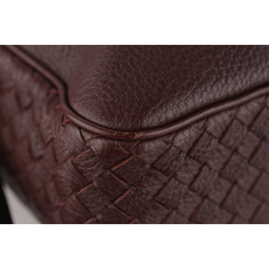 Bottega Veneta Grained Leather Messenger Bag