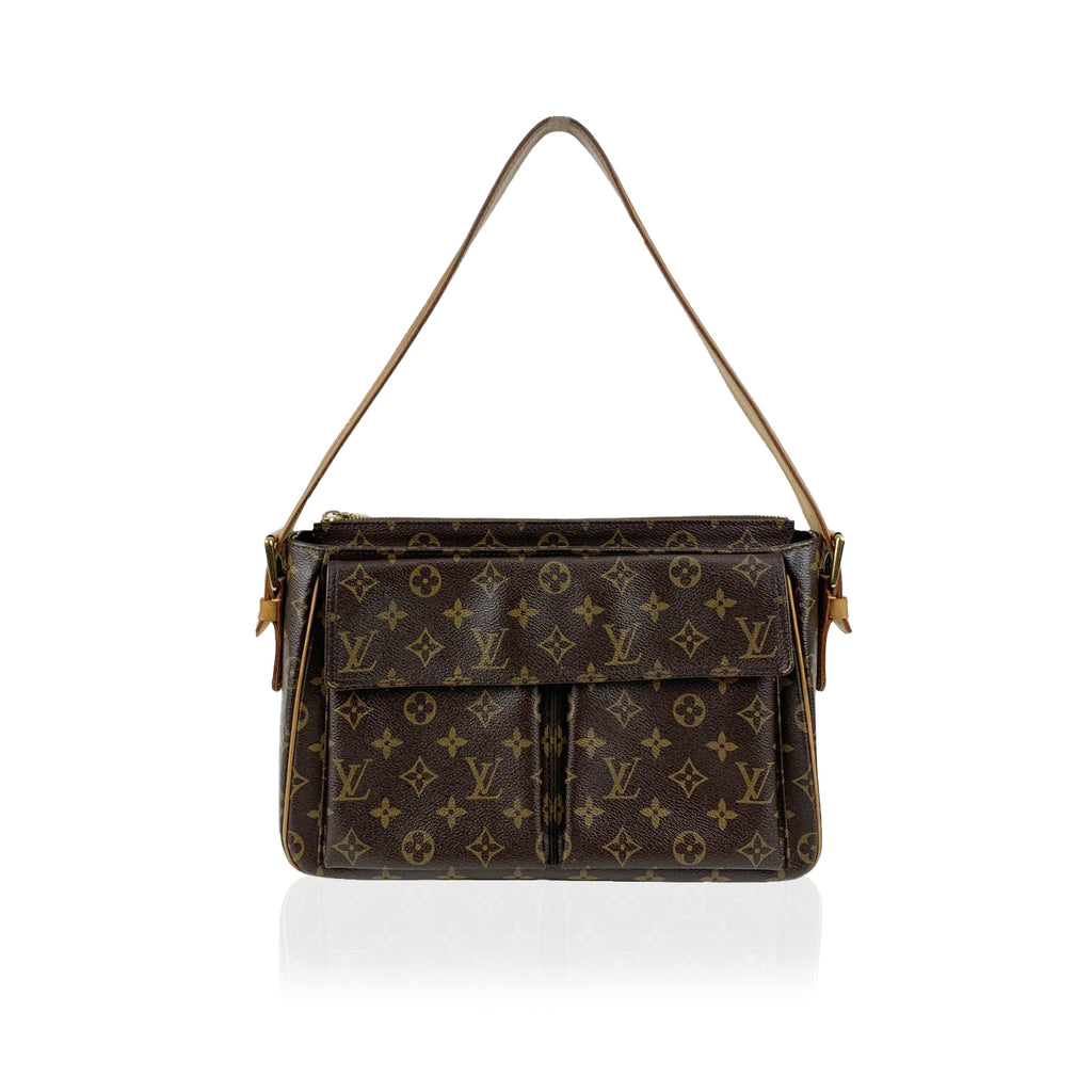 Louis Vuitton Monogram Canvas Viva Cité GM Vivacite Shoulder Bag