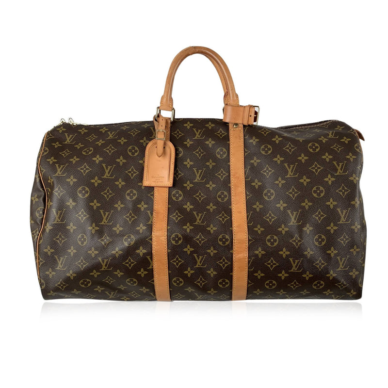 Louis Vuitton Vintage Monogram Keepall 55 Travel Bag