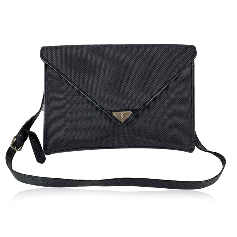Yves Saint Laurent Vintage Textured Crossbody Bag