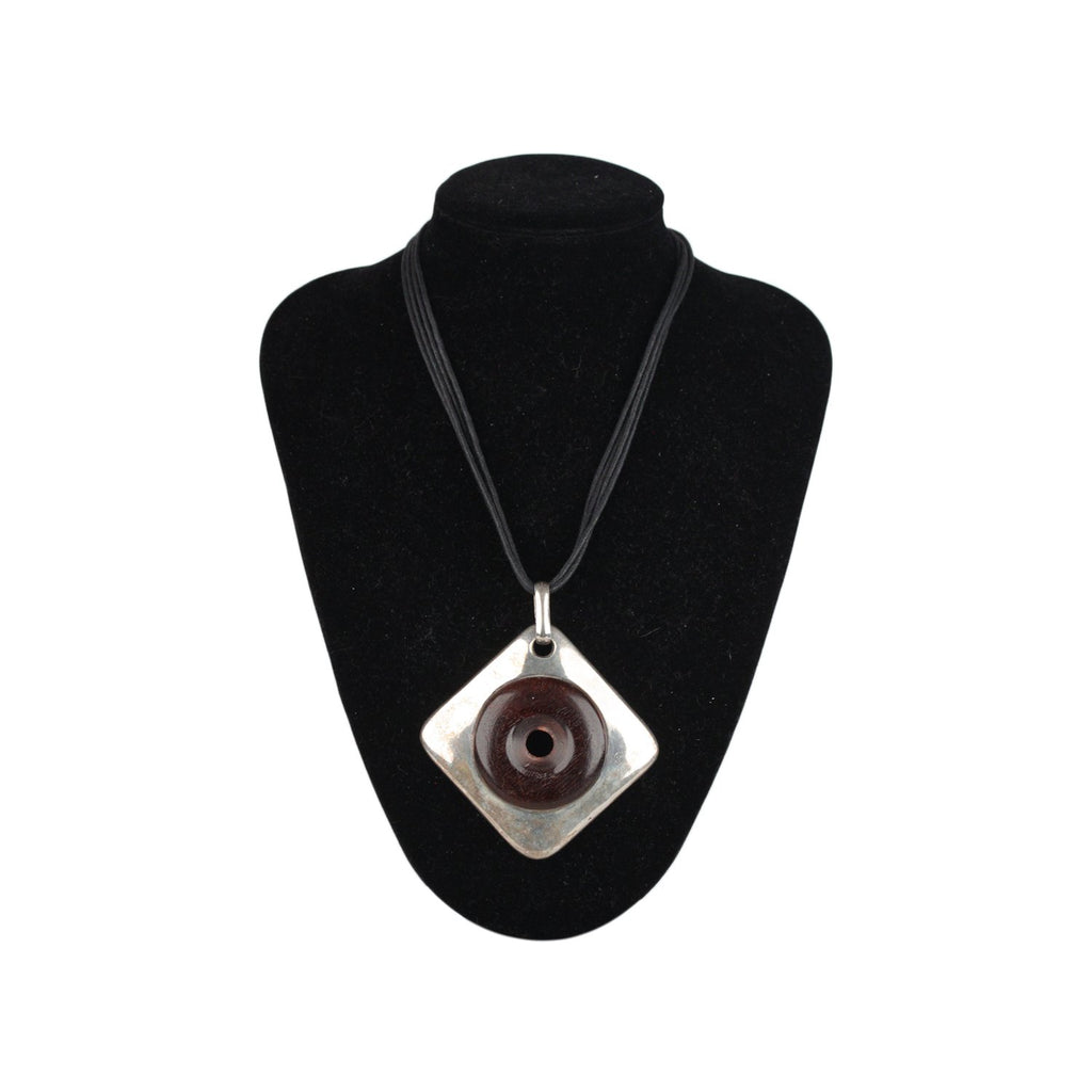 Necklace with Bold Pendant