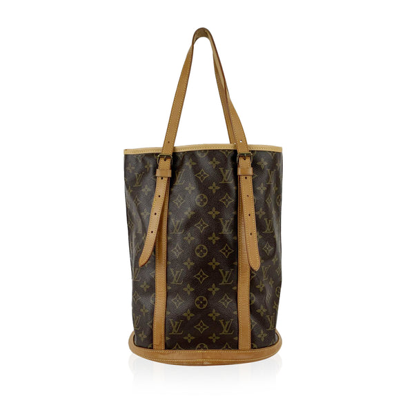 Louis Vuitton Monogram Canvas Bucket GM Shopping Bag Tote