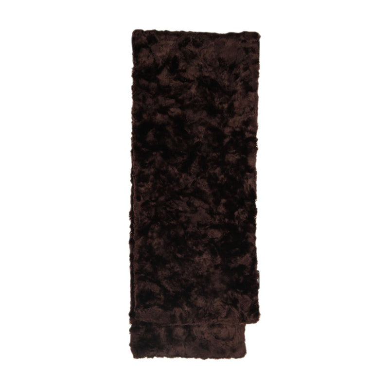CACHAREL Brown FAUX FUR STOLE Scarf