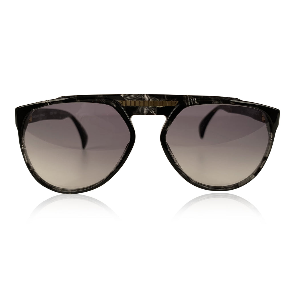 Yves Saint Laurent Vintage 80s Marbled Sunglasses 8726 P093