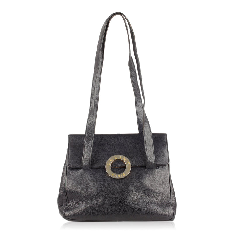 Celine Vintage Tote Shoulder Bag