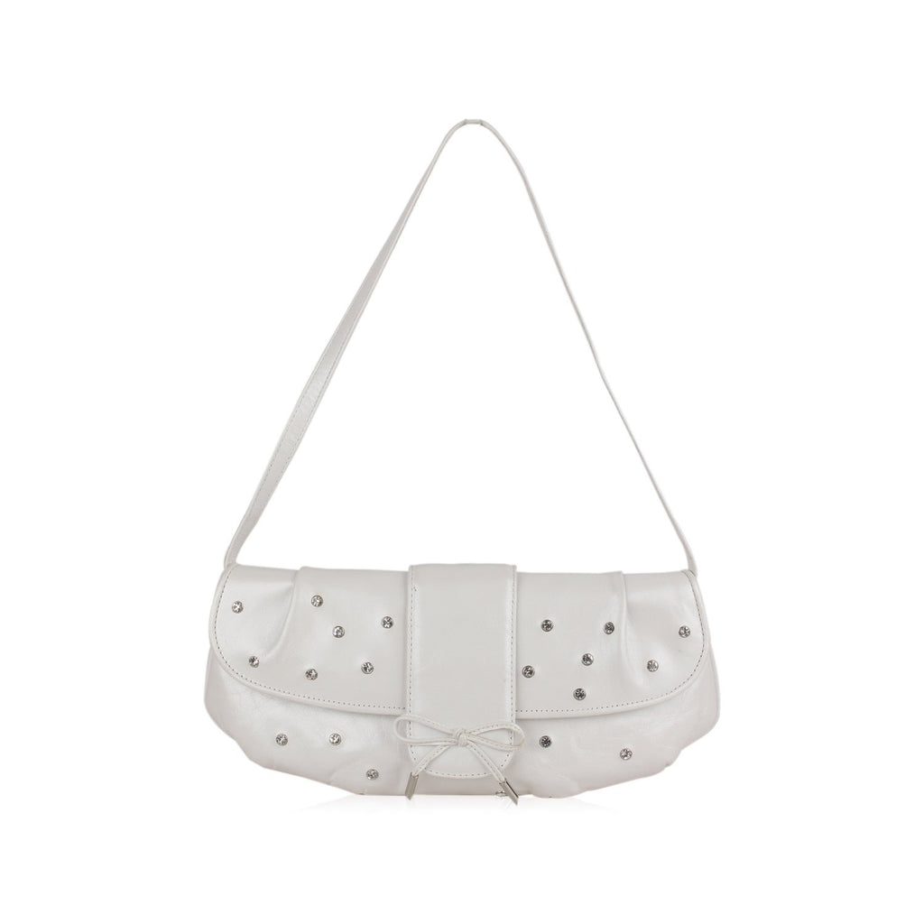 Stuart Weitzman  Shoulder Bag with Rhinestones