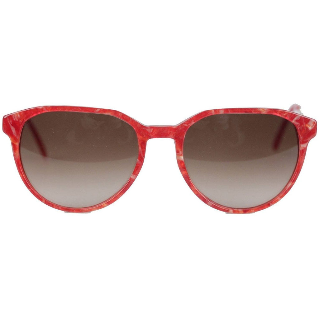 Vintage Red Sunglasses Mod Persephone 54mm