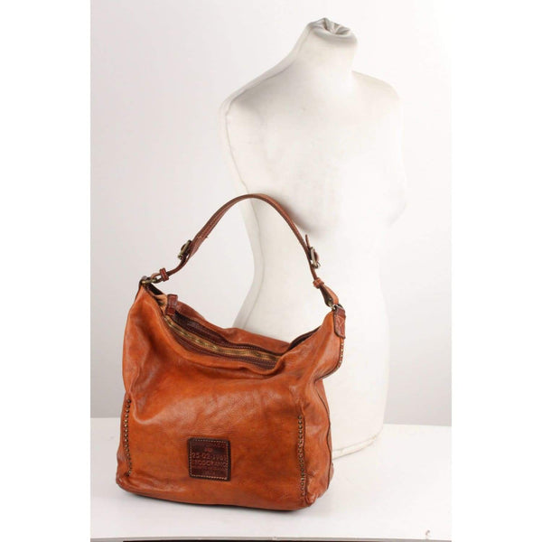 27f9680c59be Enjoy Campomaggi Leather Hobo Bag with Studs at OPHERTYCIOCCI