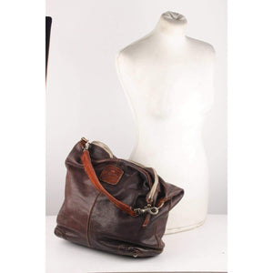 Leather Hobo Shoulder Bag Opherty & Ciocci