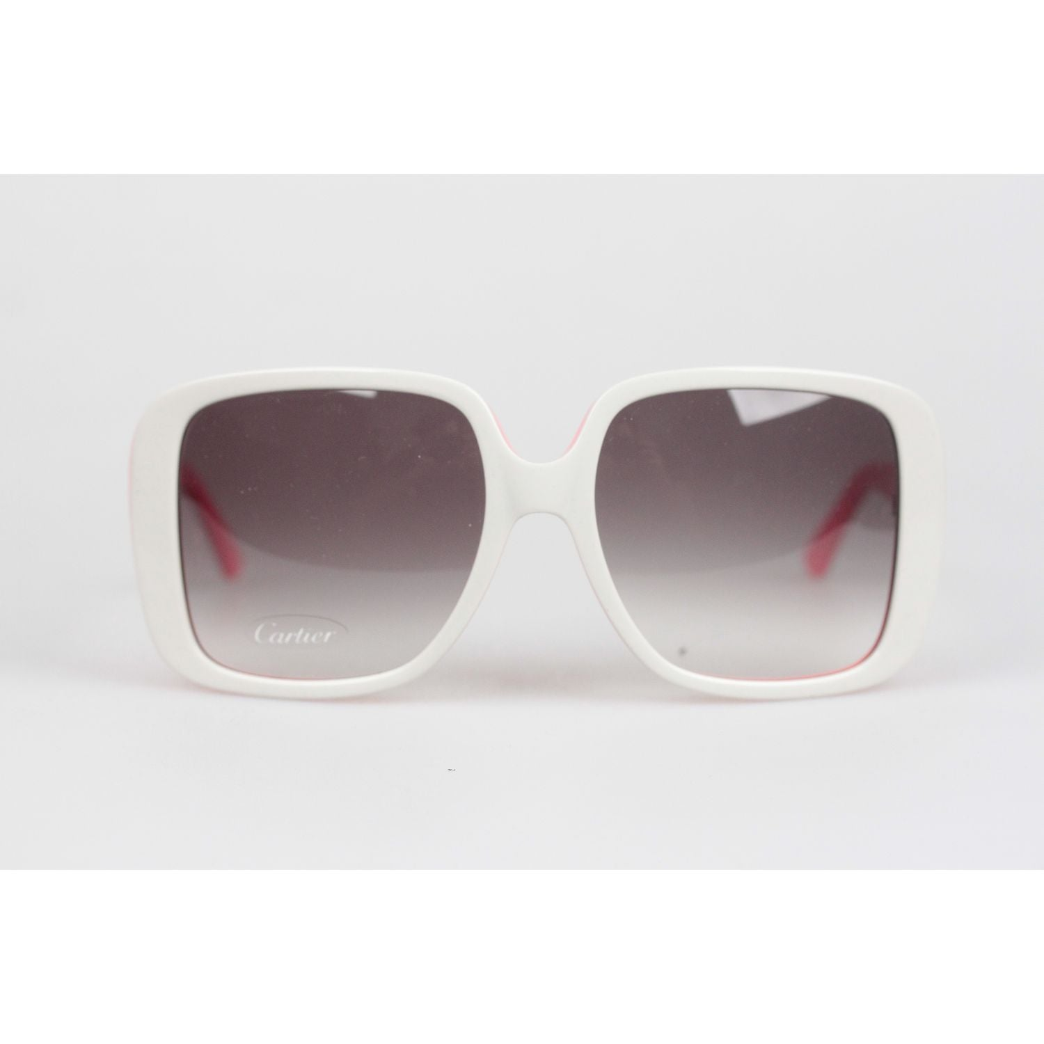 b46363818b9 Opherty ciocci cartier paris white oversized sunglasses charlie nos cartier  opherty ciocci jpg 1500x1500 Cartier paris