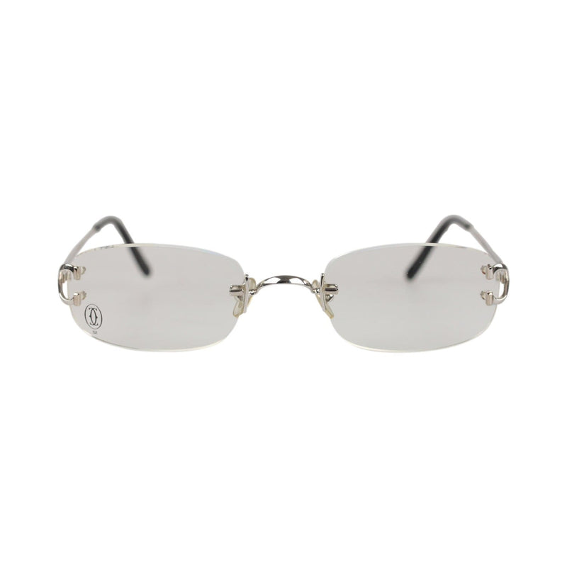 Platinum Rimless Eyeglasses Eyewear 52Mm Opherty & Ciocci