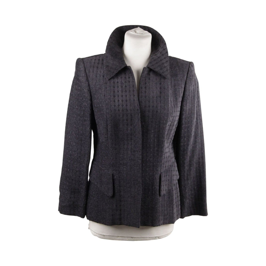Gray Embroidered Blazer Or Jacket Opherty & Ciocci
