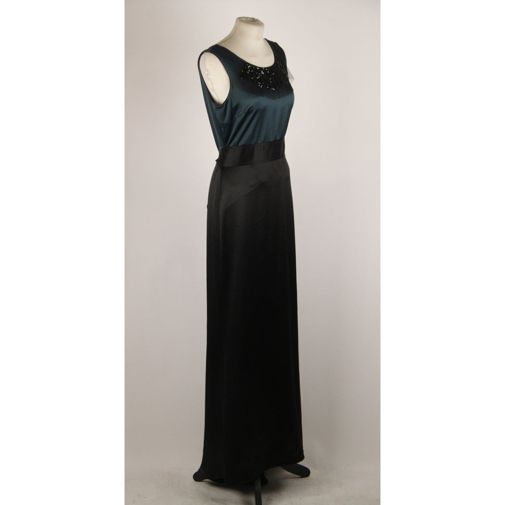 Satin Evening Dress Size 4