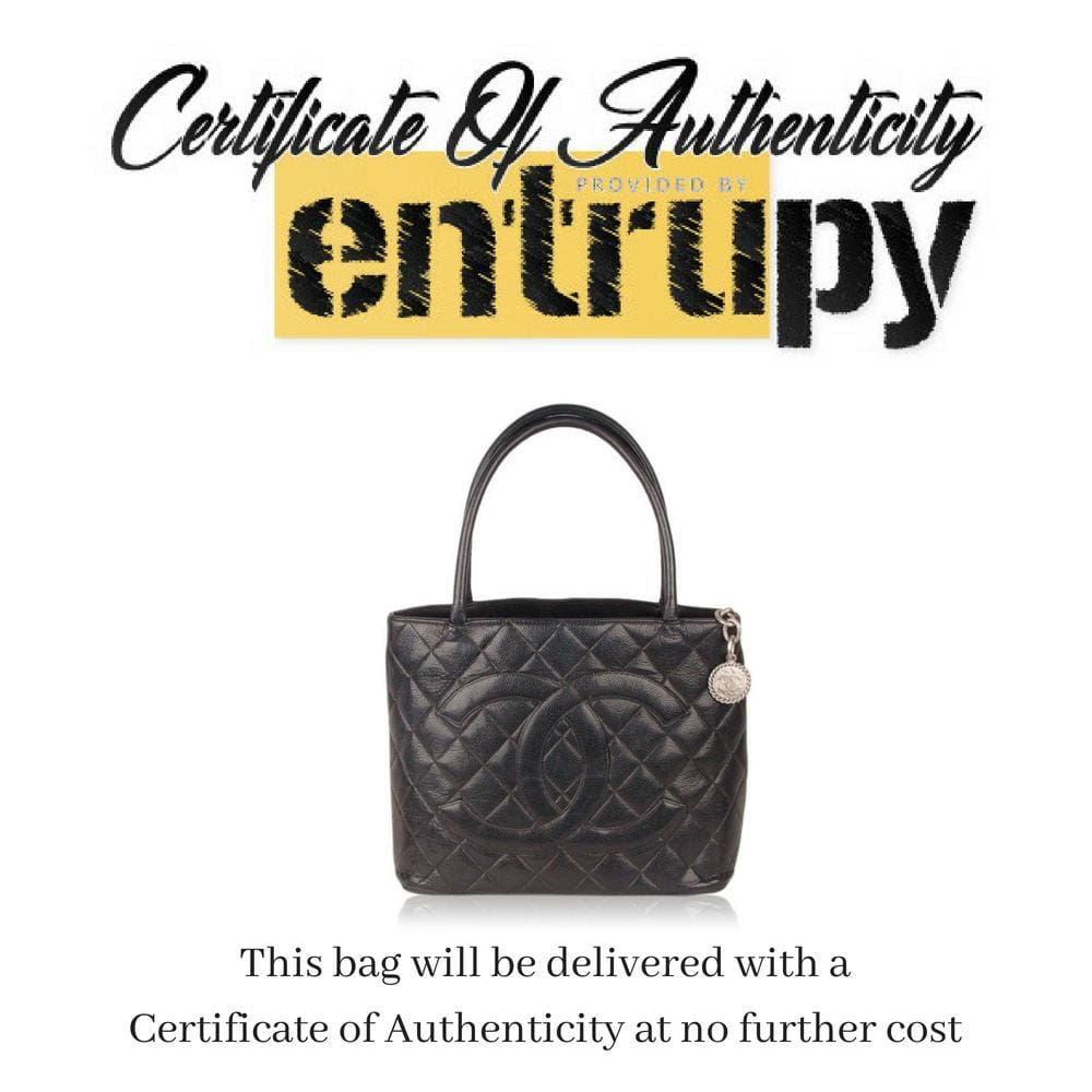 Quilted Caviar Leather Medallion Bag Opherty & Ciocci