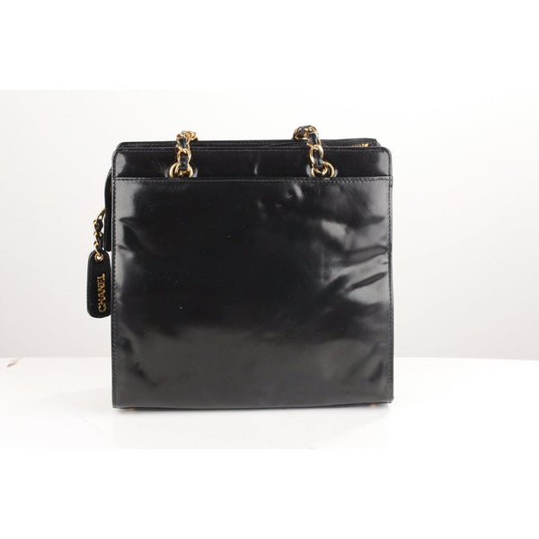 Structured Smooth Leather Tote Bag Opherty & Ciocci