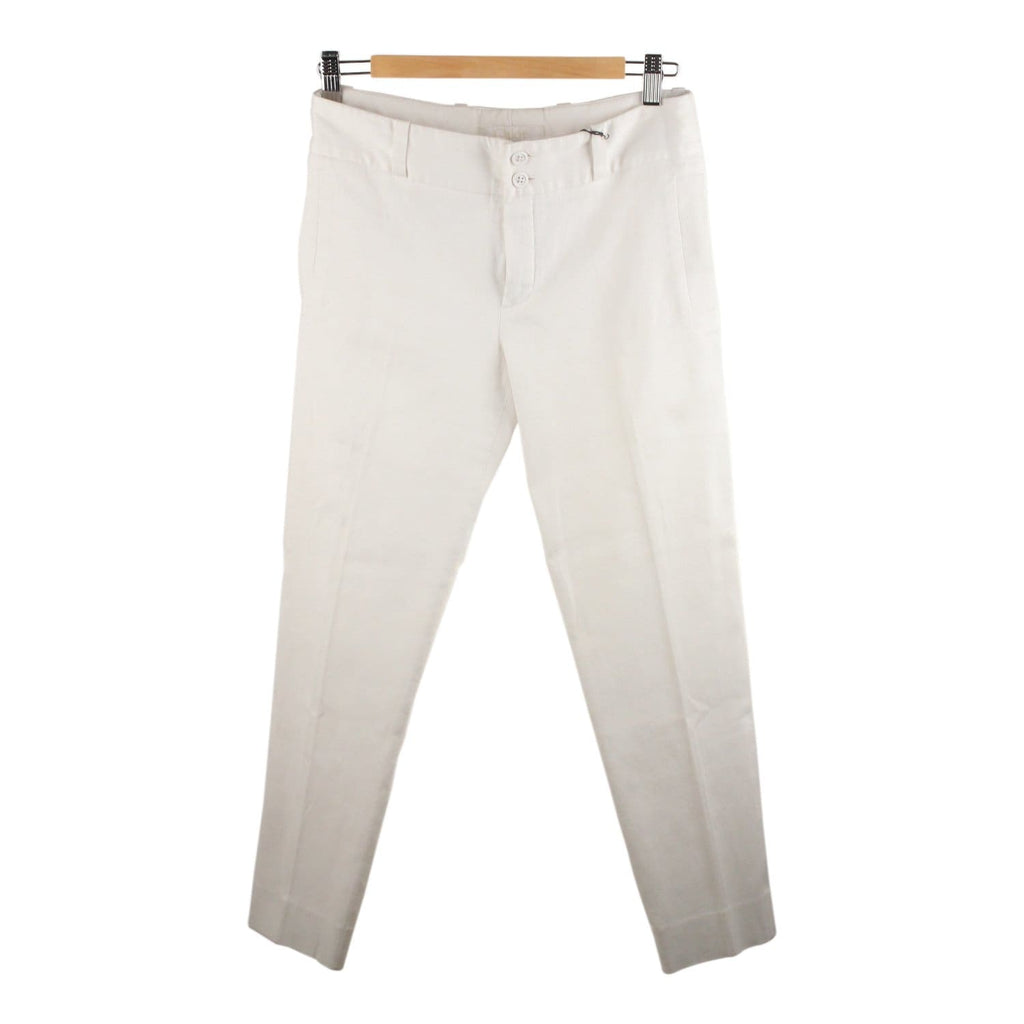 Stretch Cotton Ribbed Trousers Pants Opherty & Ciocci