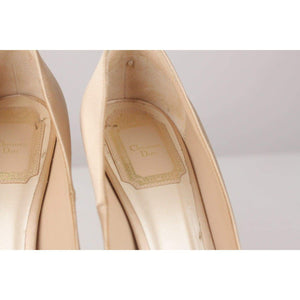 Opentoe Heels Pumps Shoes Size 38 Opherty & Ciocci