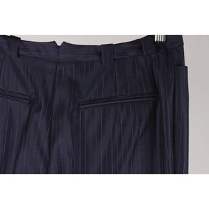 Pinstriped Trousers Pants Opherty & Ciocci
