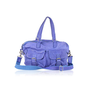 Bag Satchel With Front Pockets Opherty & Ciocci