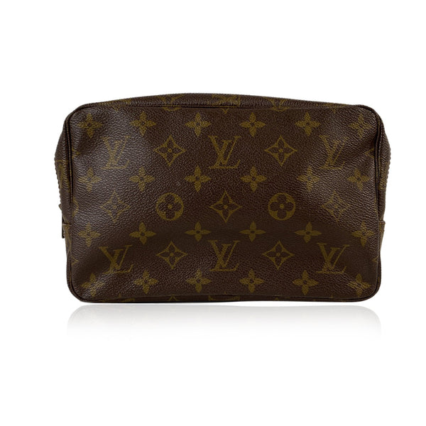Louis Vuitton Vintage Monogram Canvas Trousse Toiletry 23  Cosmetic Bag