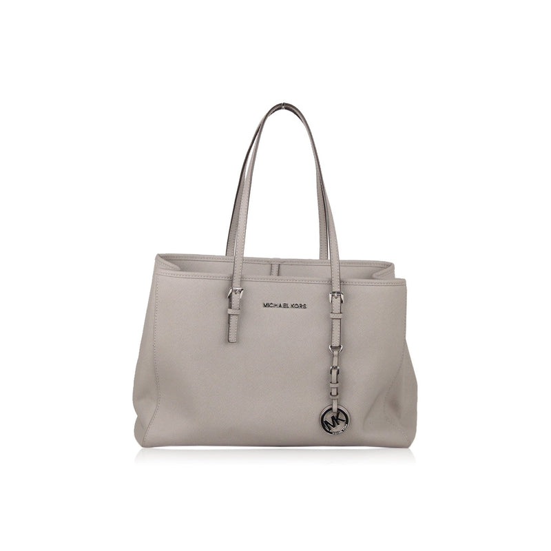 Michael Kors Gray Jet Set Travel Tote Bag