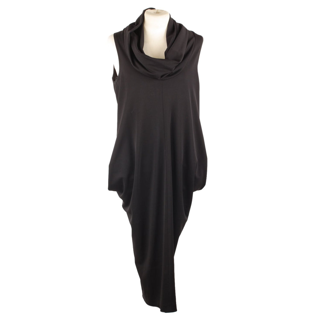 Prada Sleeveless Dress with Cowl Neck