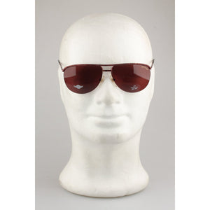 Daytona Brown Metal Aviator Vintage Sunglasses DA 857/S 61mm