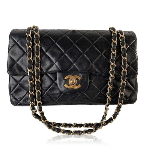 Chanel Vintage Quilted Leather Classic Double Flap 2.55 Bag