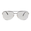 10K GF White Gold Filled Sunglasses Mod 519 56mm