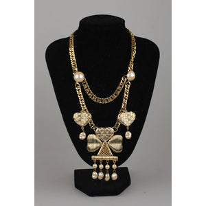 For Rocco Barocco Vintage Clovers Necklace