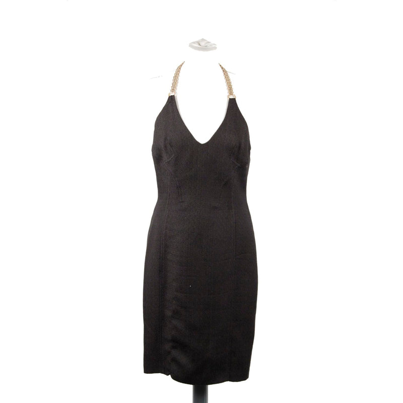 Blend Halterneck dress with chain Strap