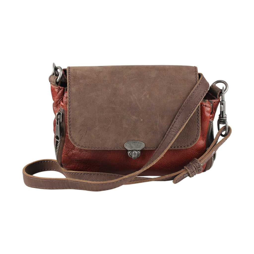 Crossbody Bag Messenger Zip Detail