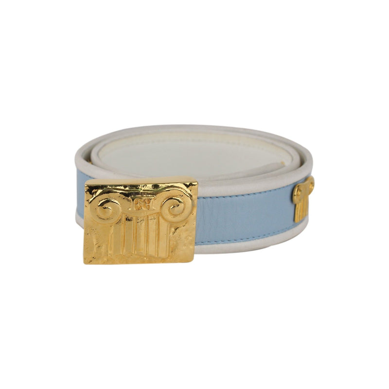 Escada Vintage Bicolor Ionic Volute Woman Belt