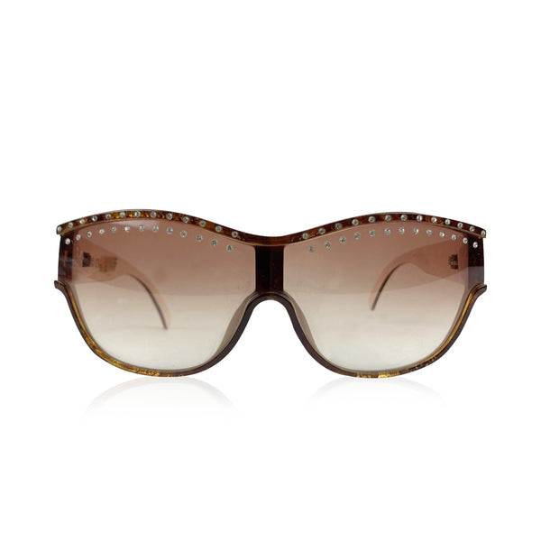 Christian Dior Vintage Brown Crystal Sunglasses 2438 58/15135 mm
