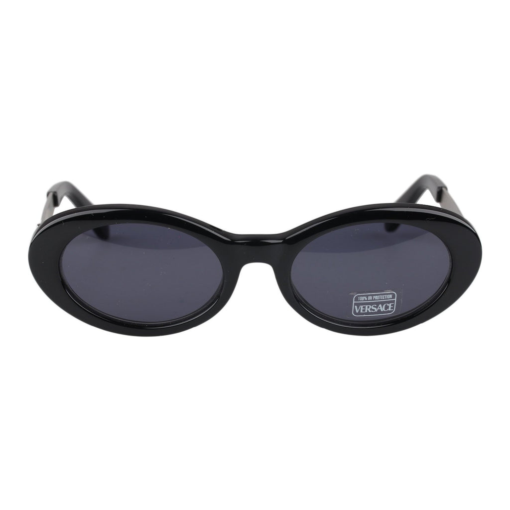 Versace Vintage Black Sunglasses Mod. 451G Col 852 52mm