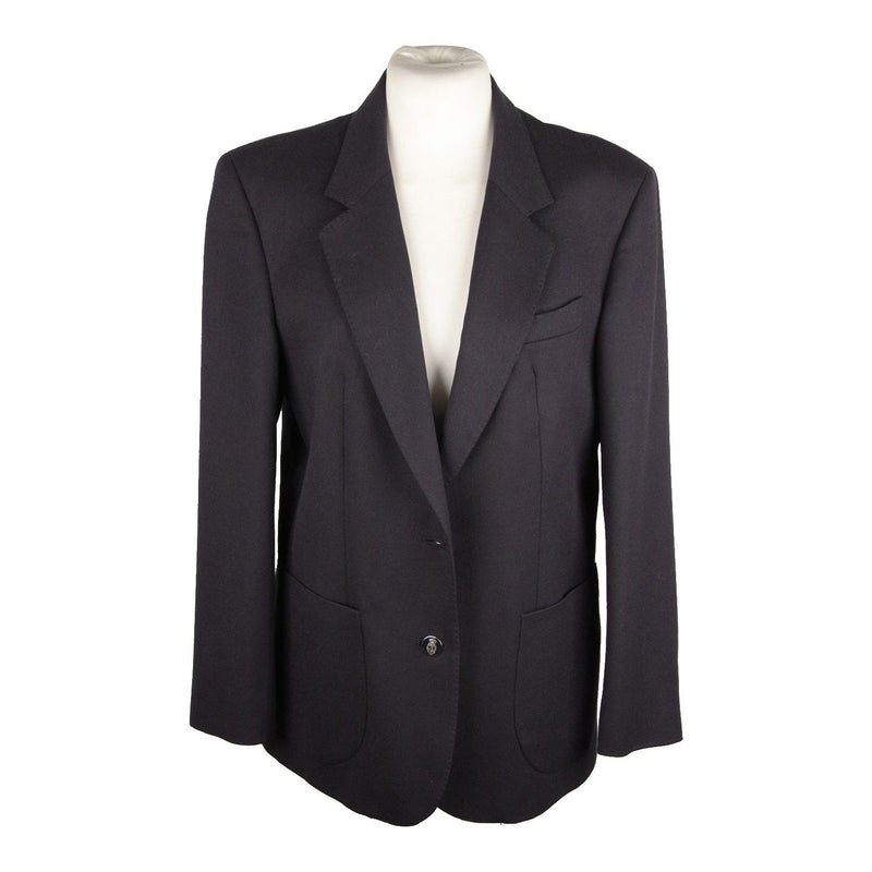 Daks Signature Navy Blue Wool Blazer Jacket Opherty & Ciocci