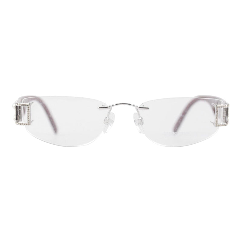 Rimless Eyeglasses S180 23K Gp 55Mm Opherty & Ciocci